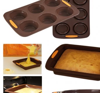 Collapsible silicon mould Flatty Muffin 008