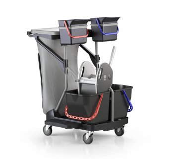Housekeeping cleaning trolley Revolution Pulex