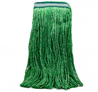 Professional yarn mop green