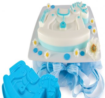 Silicon mould Baby Shower FRT171
