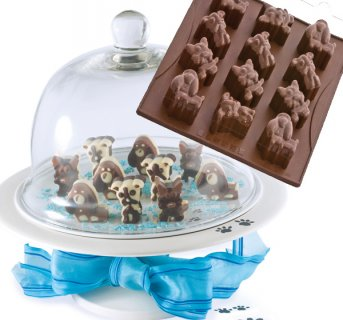 Silicon mould Chocodoggy
