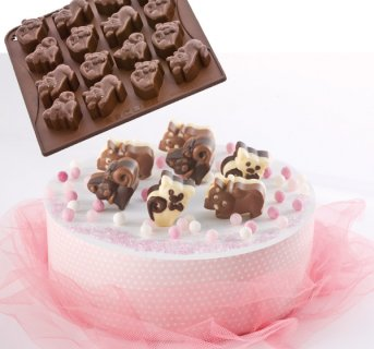 Silicon mould  Chocokitty