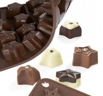 Silicon mould Chocostar